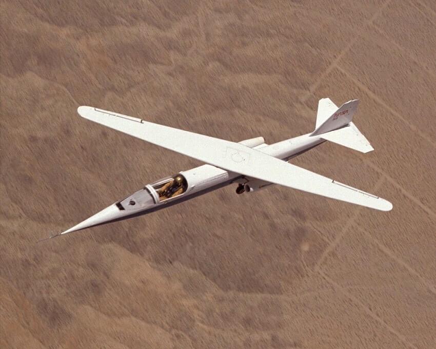 NASA AD-1, 10 weirdest aircraft ever built