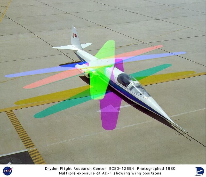 NASA AD-1, 10 weirdest aircraft every built