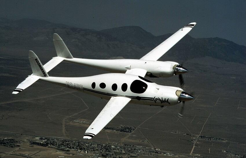 Rutan Model 202 Boomerang, 10 weirdest aircraft ever built