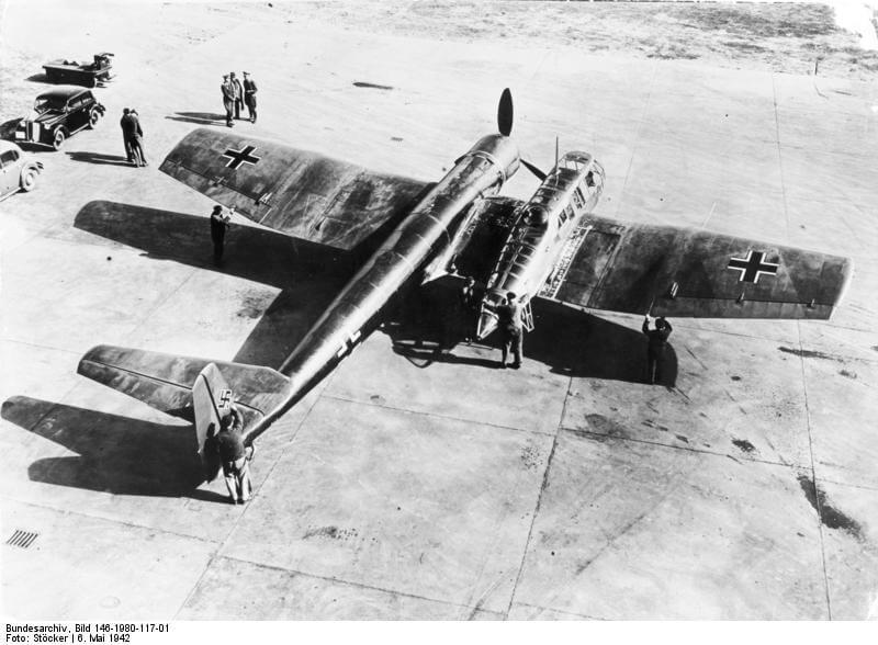 Blohm & Voss BV 141, 10 weirdest aircraft ever built