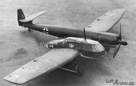 Blohm & Voss BV141, 10 weirdest aircraft ever built