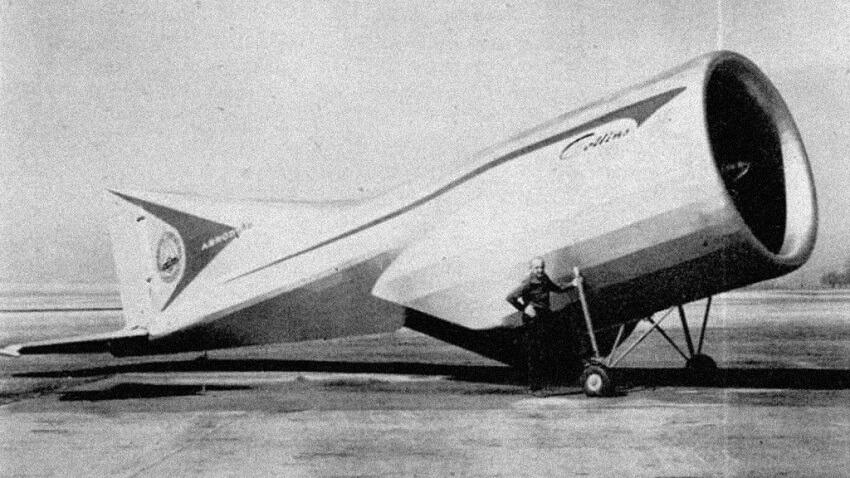 Alexander Lippisch Aerodyne, 10 weirdest aircraft ever built
