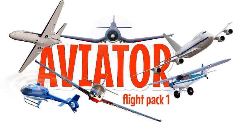 Aviator FlightPack IOS stickers
