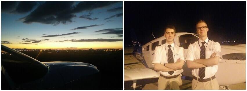 Bob Geuens - ATPL flight training blog - Road to the Right Seat - Night flying CAE Arizona