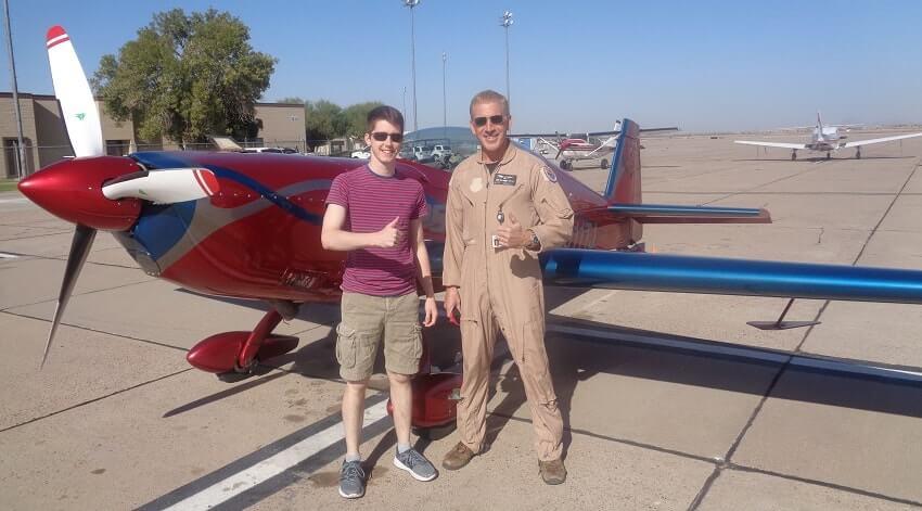 Bob Geuens ATPL flight training blog - Road to the Right Seat - Arizona Upset & Recovery Training - Extra