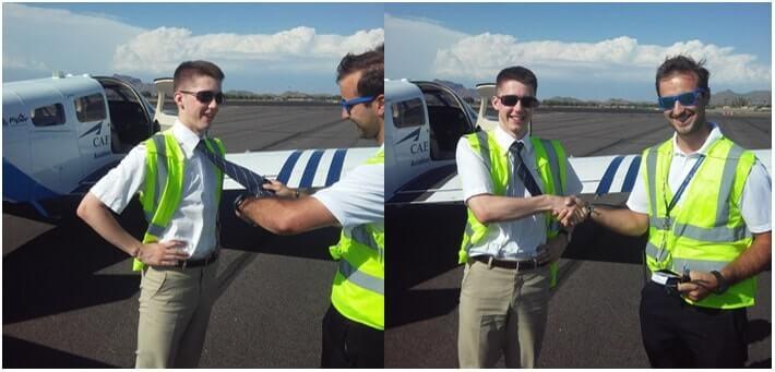 Bob Geuens - Road to the Right Seat - ATPL flight training blog - Arizona - CAE