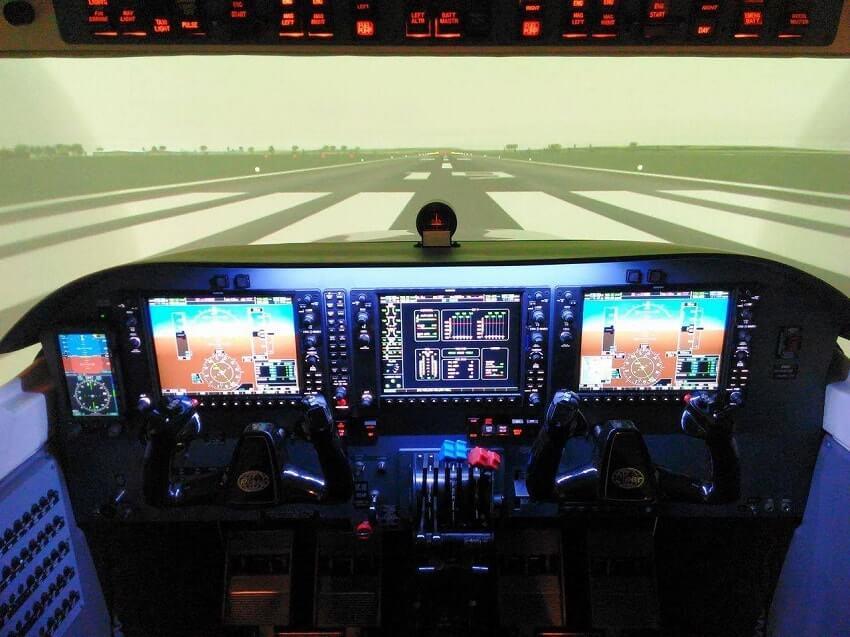 Bob Geuens ATPL flight training blog - Road to the Right Seat - Flight Simulator