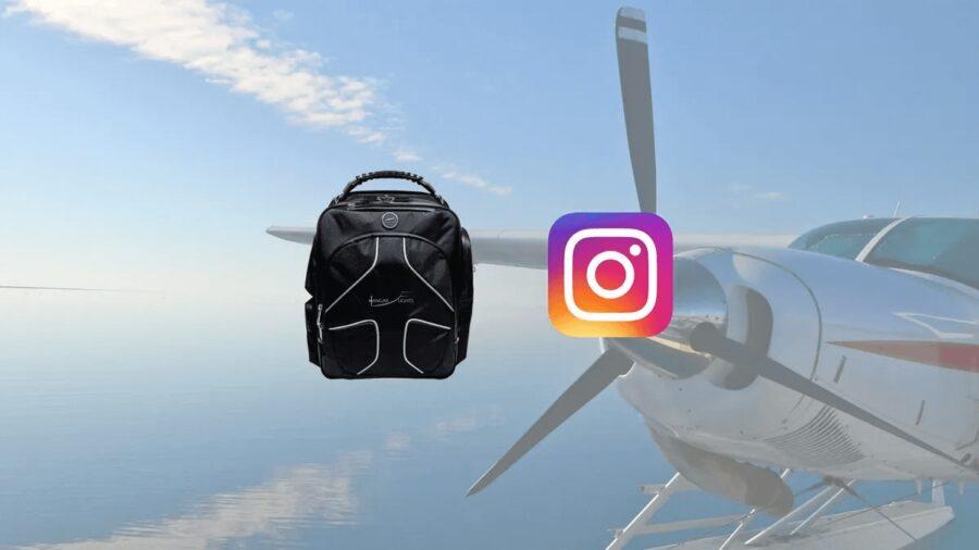 20k Instagram Giveaway: Win a MyGoFlight Flight Bag