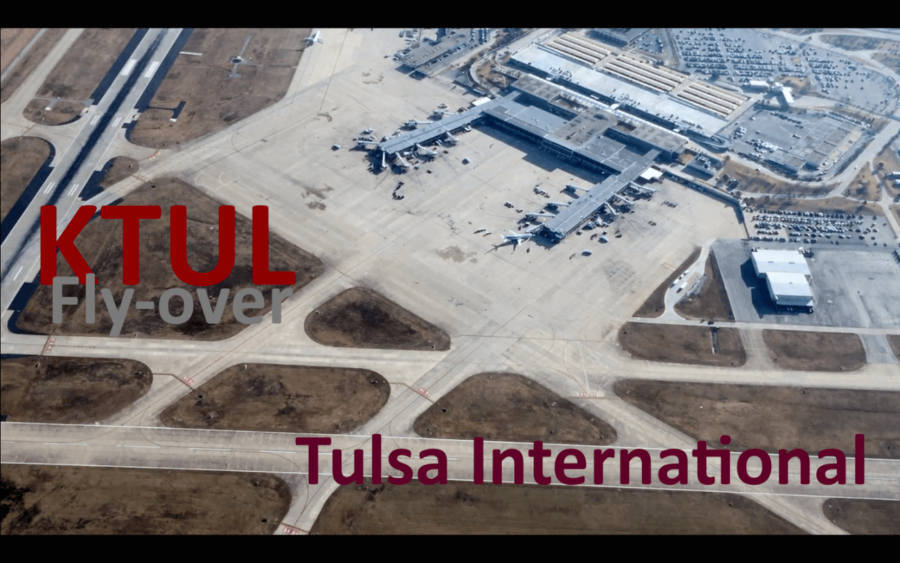 Rare View and Unique Perspective – Class C Tulsa International (KTUL) Fly-Over in a Cessna 172