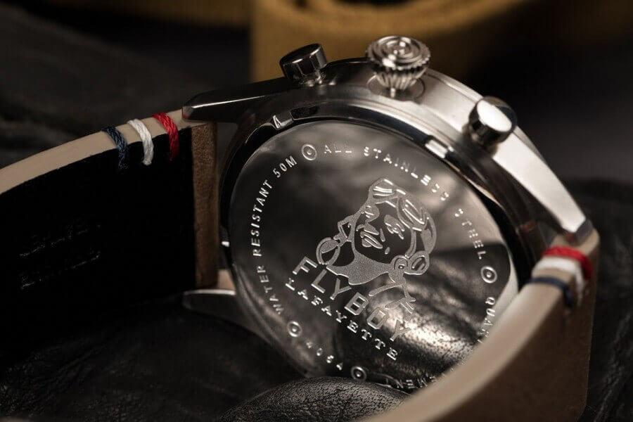 AVI-8 Flyboy Lafayette Pilot watch