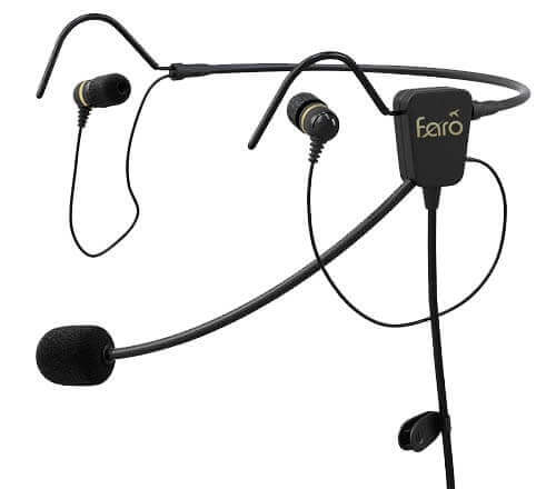 Best Aviation Headsets: Faro Air in-ear aviation headset