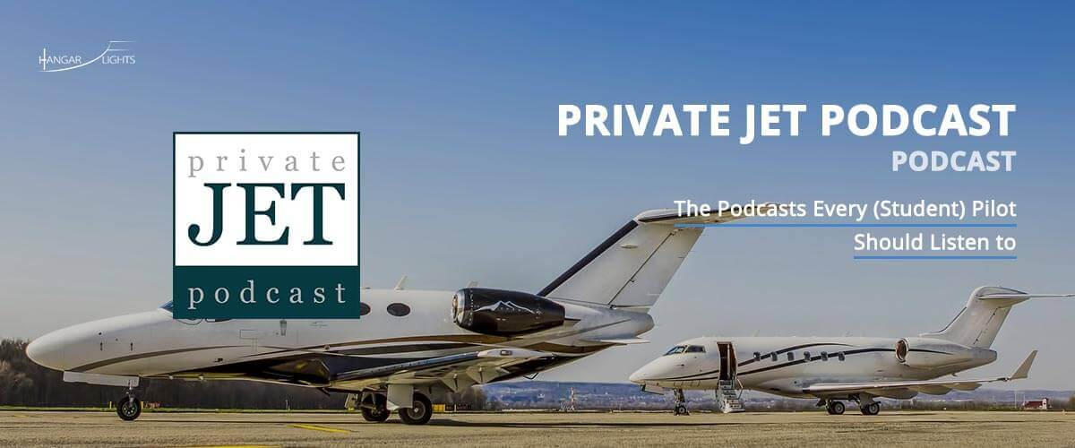 Best Aviation podcasts: The private jet podcast