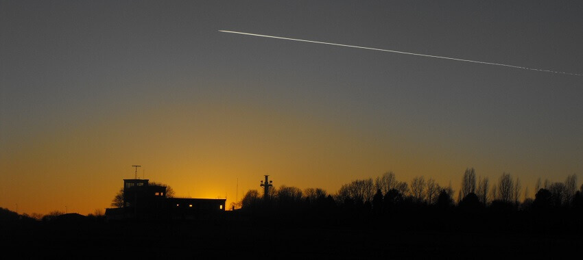 Blog Hangar.Flights EBTN Goetsenhoven sunset tower