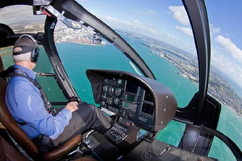 Eurocopter EC130 cockpit