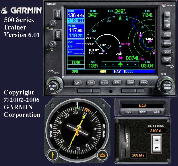 Free Garmin 430 and 530 PC Simulators