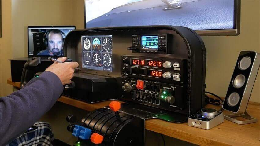 How to Build a Home Flight Simulator - Example - Hangar.Flights