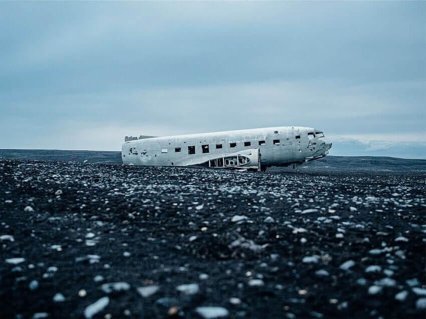 Iceland DC-3 crash
