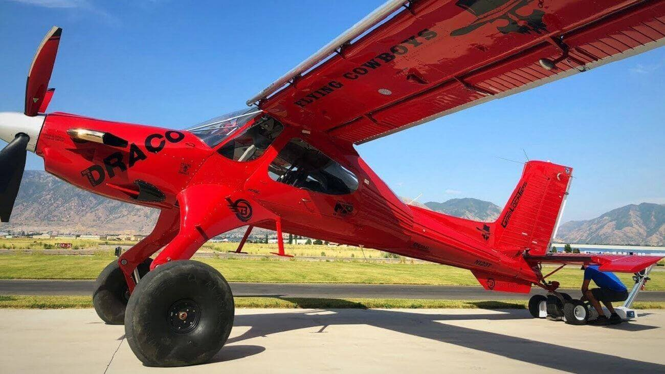 Bush Plane For Sale >> Draco The Plane That Stole The Show At Oshkosh 18 Hangar Flights