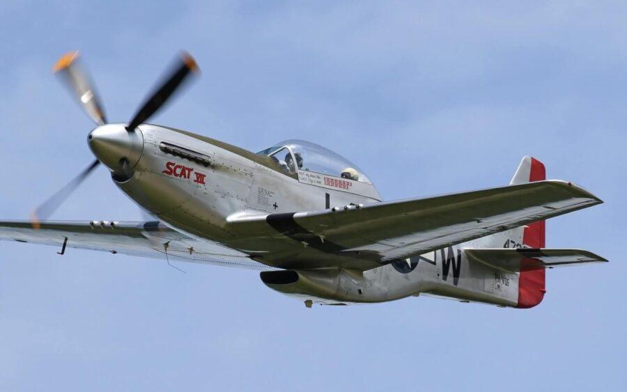 Flying the Legendary P51 Mustang – SCAT VII
