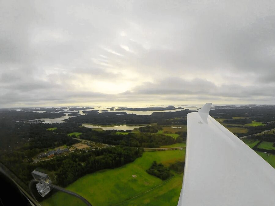 Making new Friends Through Instagram and Flying Over Finland