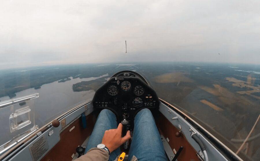 Gliding over Finland
