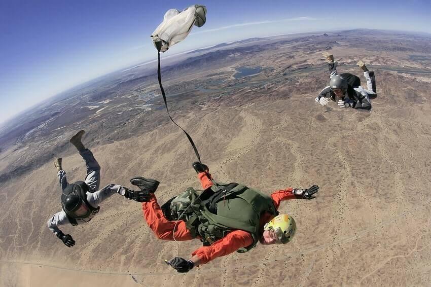 Pilot Bucket list: Go skydiving