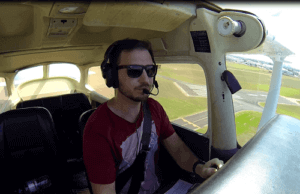 A Flight in the Training Area to Keep my Skills up