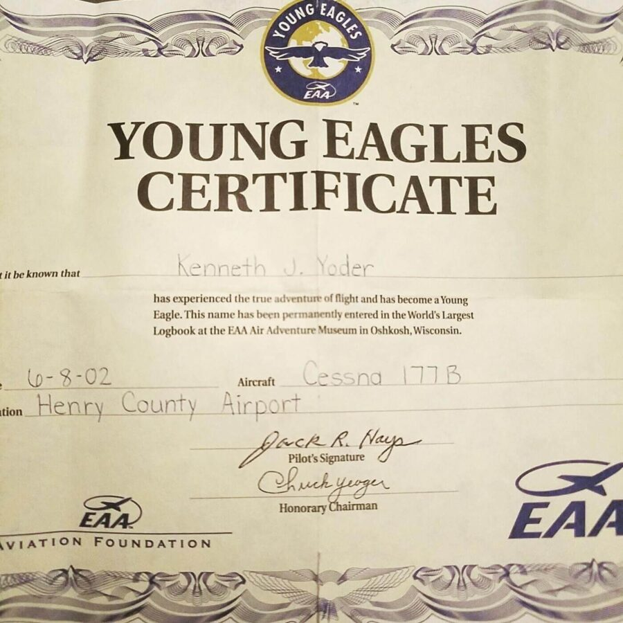 Young Eagles rides