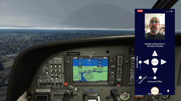 This $10 App is the Perfect Low-budget Head Tracking for Flight Simulator