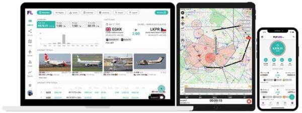 The Best Pilot Logbooks: FlyLog.io