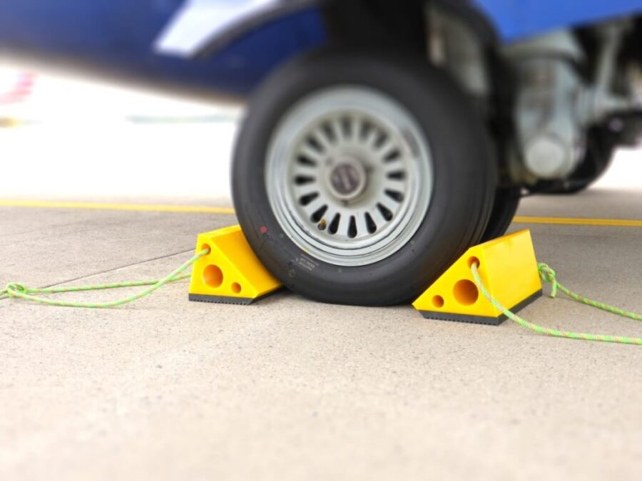 The Best Aircraft Wheel Chocks – 2021 Buying Guide