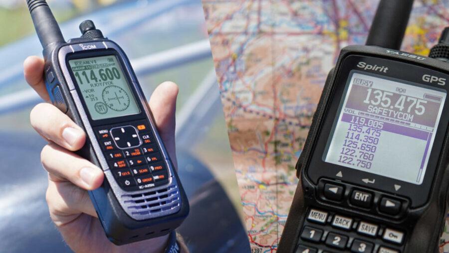 Icom vs Yaesu Aviation Handheld Radios: Which is Better in 2021?