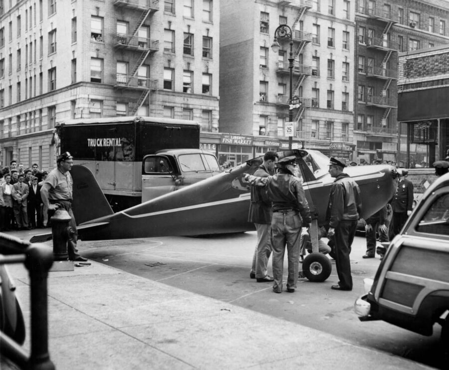 How Thomas Fitzpatrick Stole A Plane and Landed on NYC Streets, Twice, Drunk